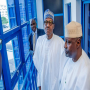 Buhari inspects Presidential Campaign Office