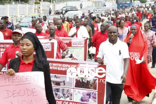 •BBOG protesters