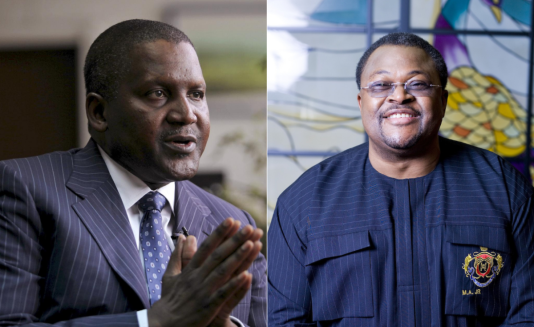 •Dangote and Adenuga