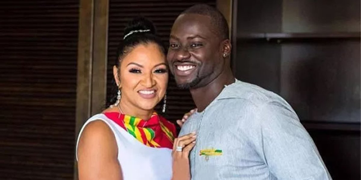 •Chris Attoh and late wife Bettie