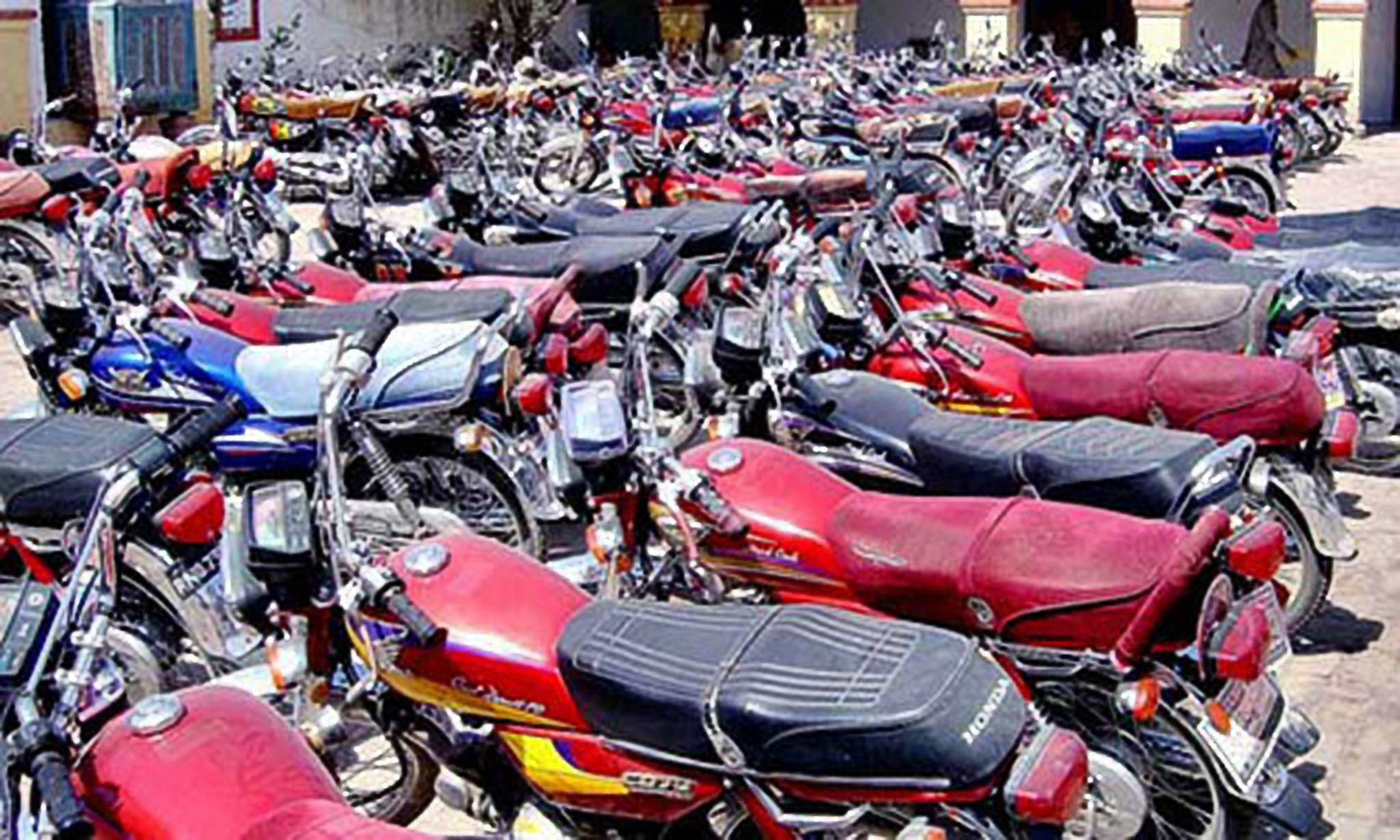 •Impounded motorcycles