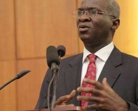 •Power, Works and Housing Minister, Fashola