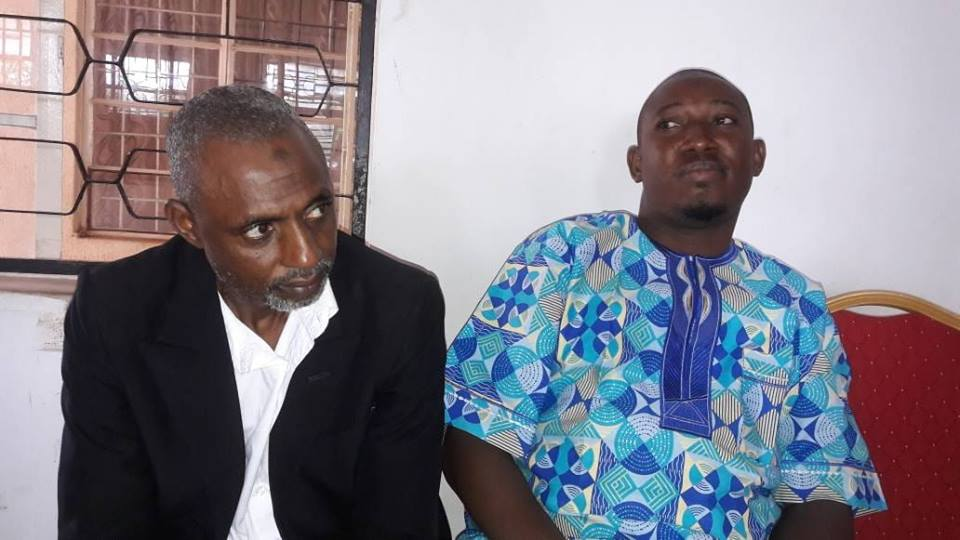 •The accused persons, Umar Saidu Bamali (L) and Adeniyi Adeosun