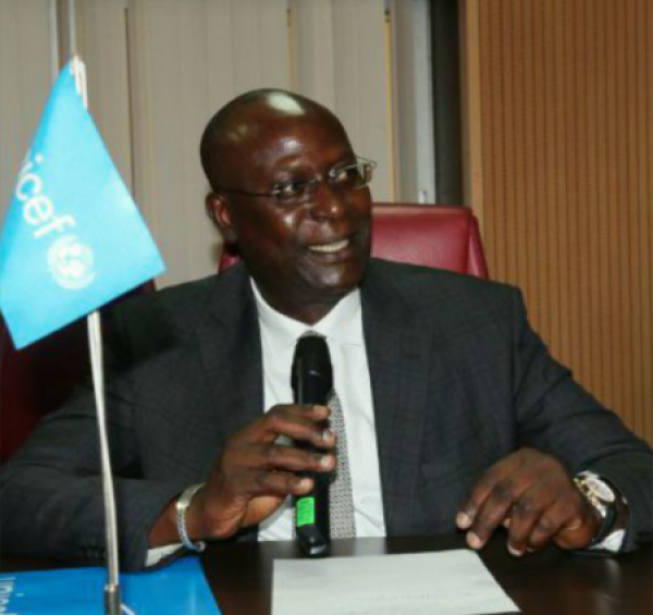 •UNICEF Rep in Nigeria, Mohamed Fall