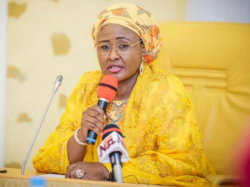 President Buhari's wife queries FG's Social Investment Programme •Says most beneficiaries never get the money