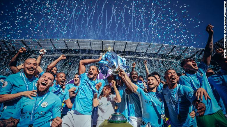 •EPL champions Manchester City