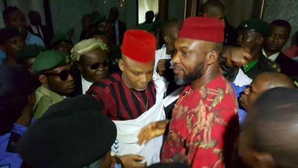 •Nnamdi Kanu and Osita Chidoka.