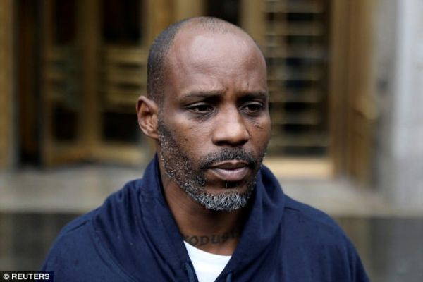 Rap superstar DMX sentenced to a year in prison for tax fraud