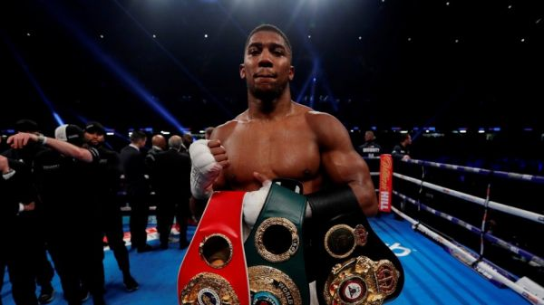 Anthony Joshua N1b richer after beating Parker in world heavyweight duel
