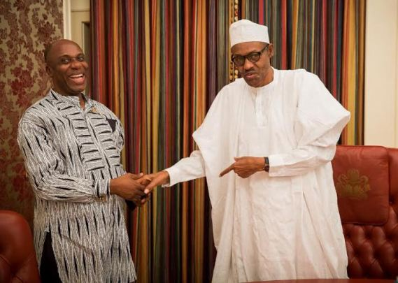 •President Buhari and Rt. Hon. Amaechi