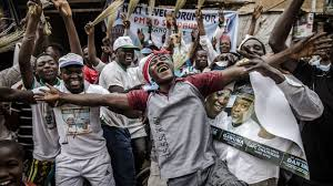 •APC supporters in jubilation mood