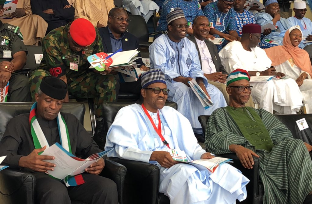 •APC National convention in Abuja