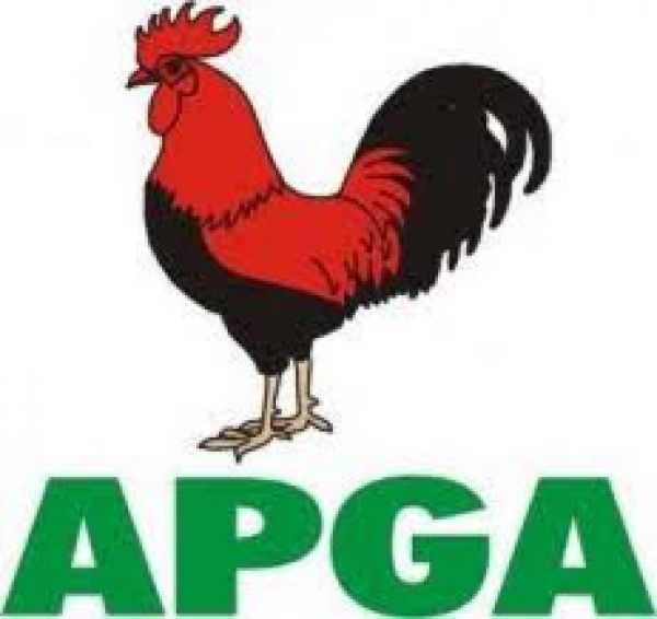 •All Progressives Grand Alliance (APGA) logo