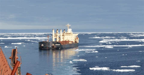 Fast-changing Arctic and North Atlantic conditions bring route risk