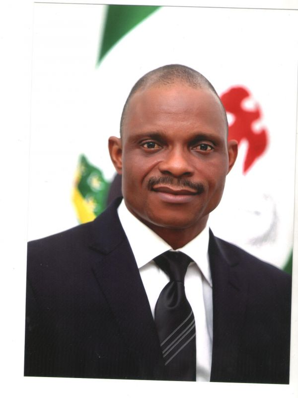 •Impeached Abia Speaker, Hon. Martins Azubuike.
