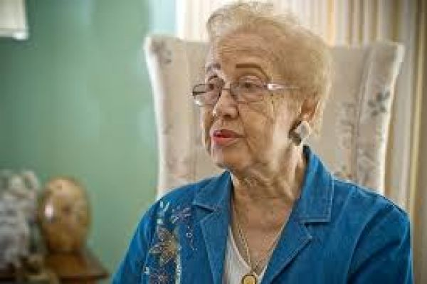 •African-American mathematician Katherine Johnson