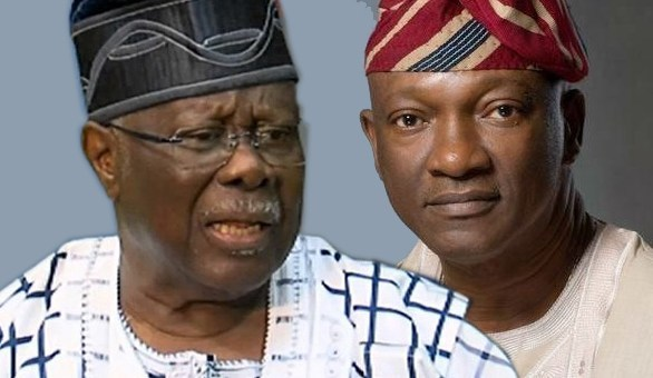 •Chief George and Mr. Agbaje