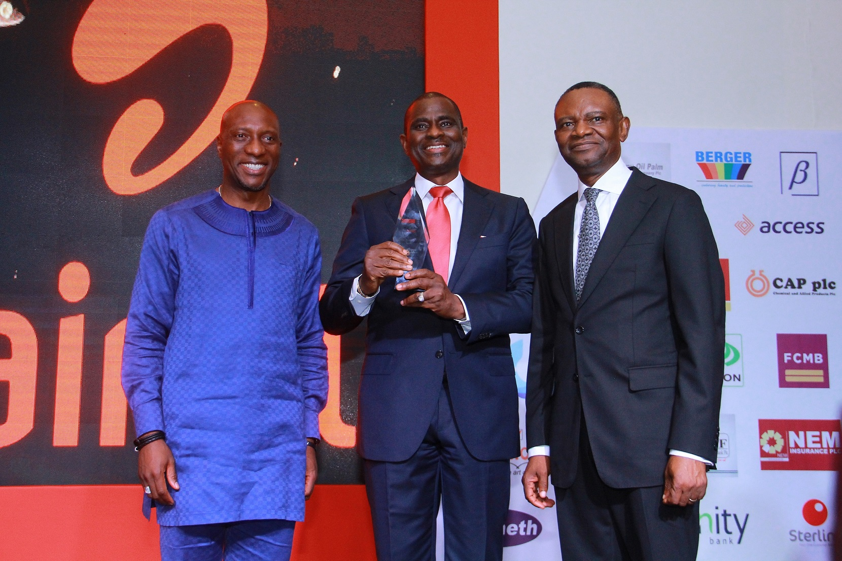 Airtel wins award for contributions to economy, job creation