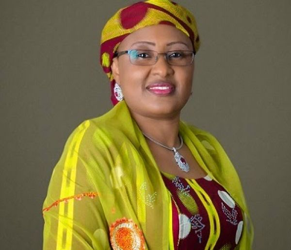 •First Lady Aisha Buhari