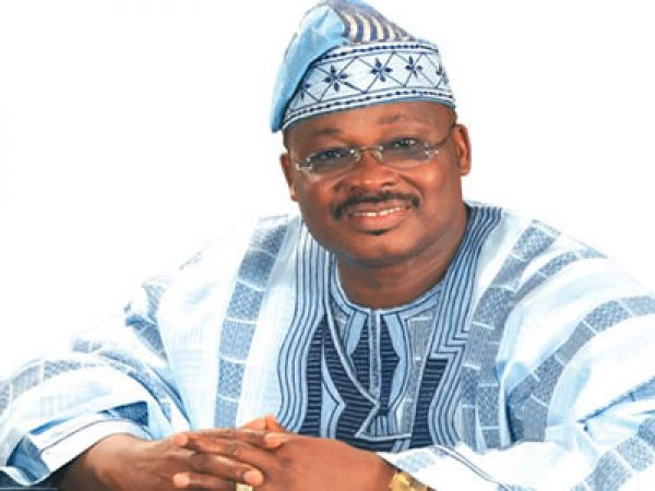 •Governor Isiaka Ajimobi of Oyo State