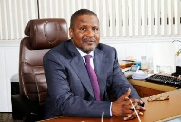 •Business magnate Aliko Dangote
