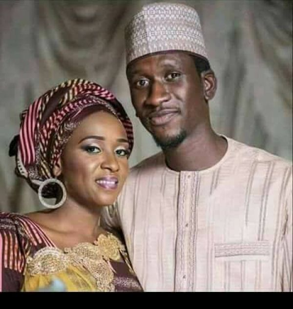 •Alleged killer wife Maryam Sanda and late husband Bilyamin Bello