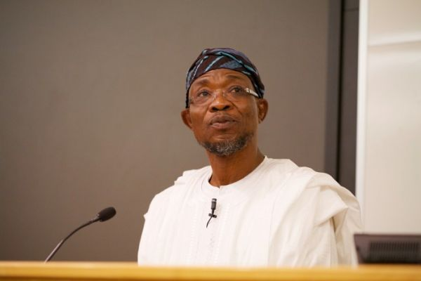 •Governor Aregbesola.