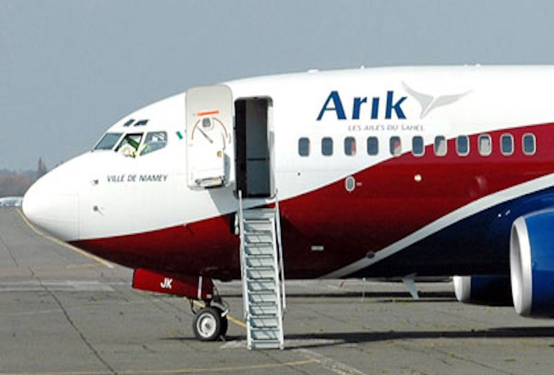 • Arik Air aircraft