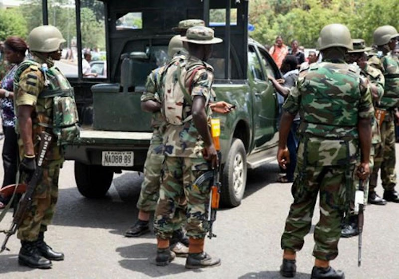 • Army keeps peace in Kaduna