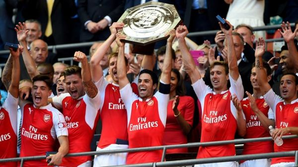 Arsenal beat Chelsea to win Community Shield