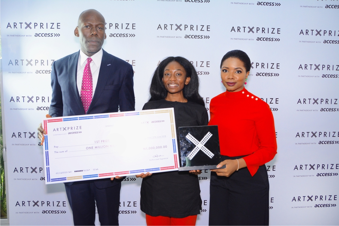 How Bolatito Ibitola won 2018 'Art X Prize with Access '