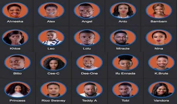 •BBNaija 2018 contestants