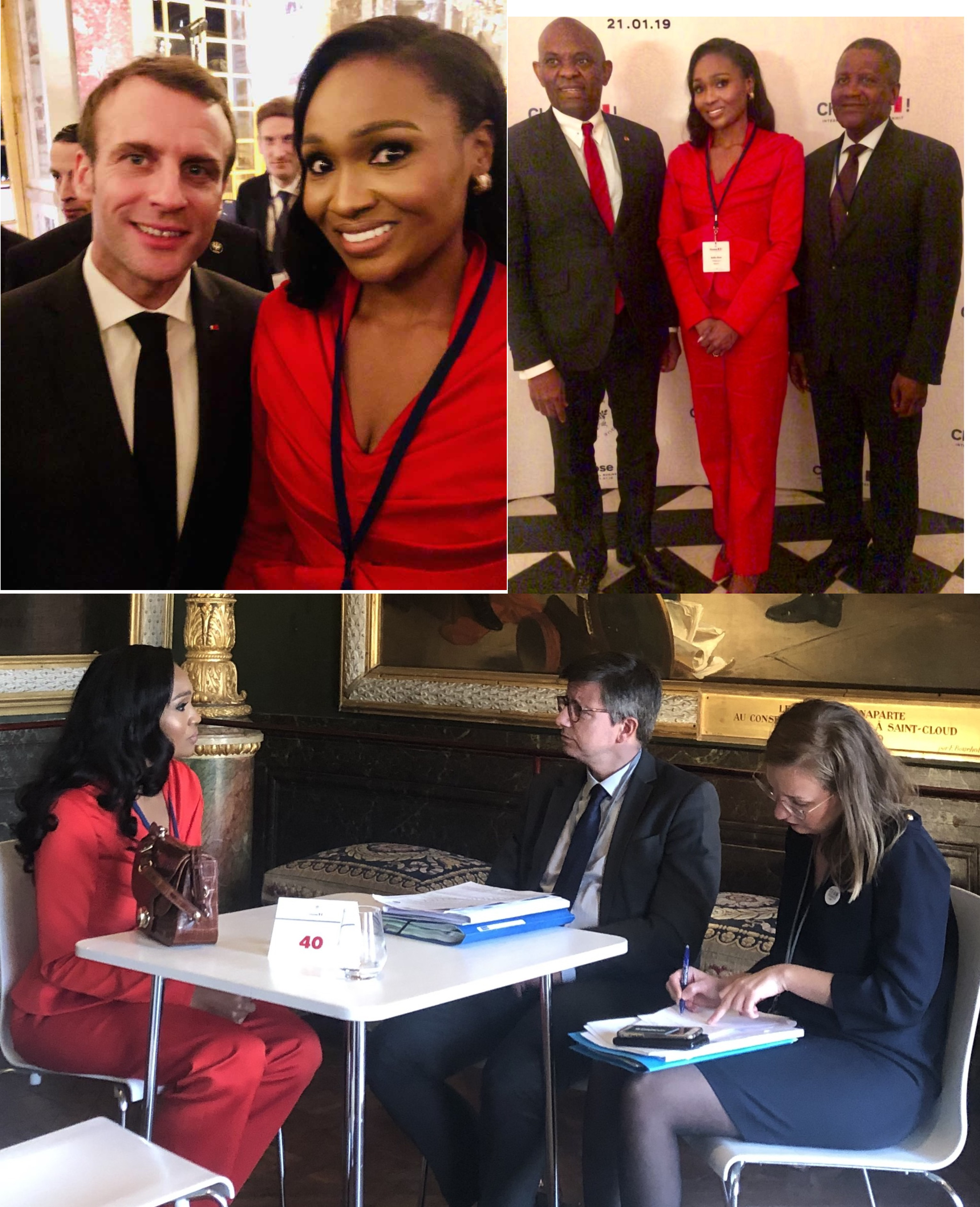 Glo signs deal with Nokia Alcatel-Lucent •Bella Disu, Patrick Pouyanné, Aliko Dangote, 147 Global CEOs attend Choose France Summit at Château de Versailles
