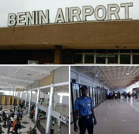 Woman collapses at Benin Airport while awaiting Atiku News