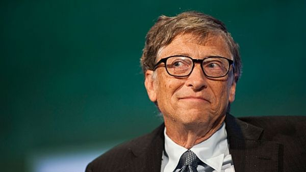 •World richest man Bill Gates.