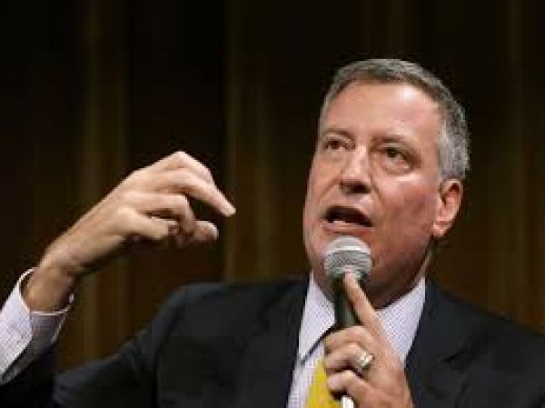 •New York Mayor Mayor Bill de Blasio