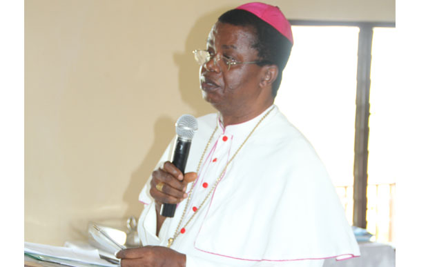 •Catholic Bishop of Awka Diocese, Most Rev. Paulinus Ezeokafor