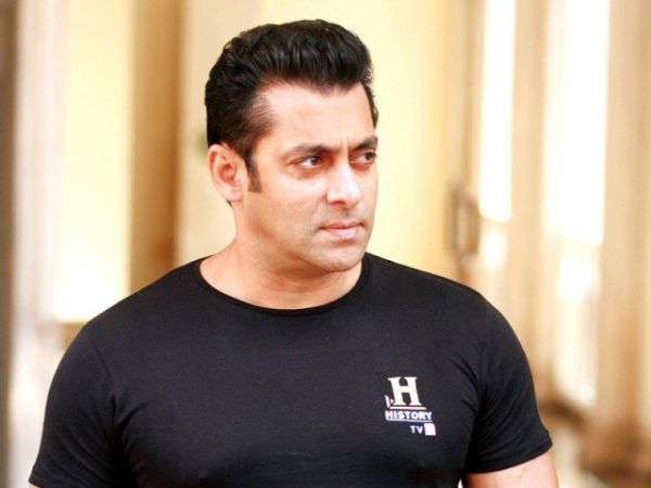 •Bollywood star Salman Khan