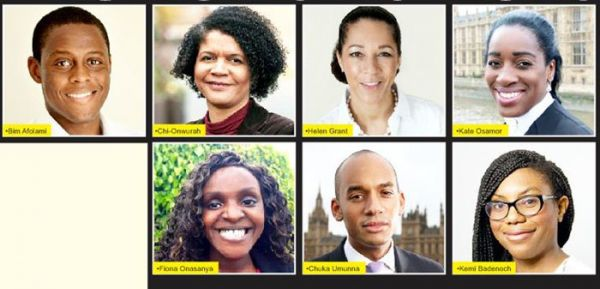 •The seven Nigerians elected into the British Parliament on Thursday.