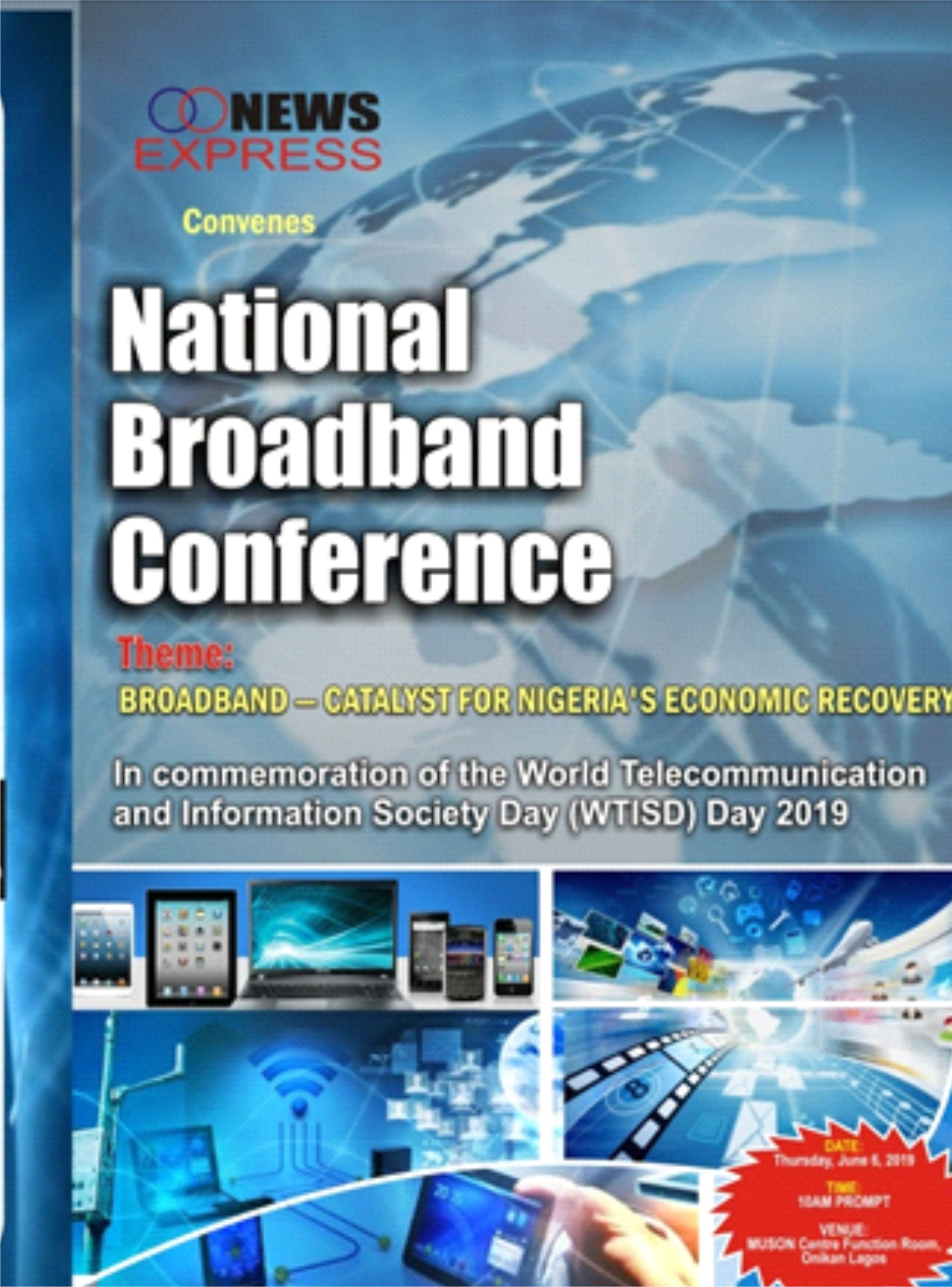 National Broadband Conference rescheduled