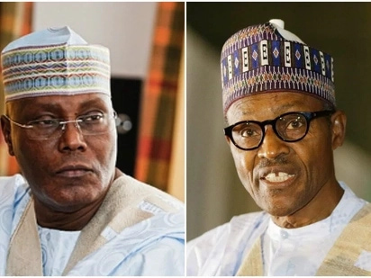 •President Buhari and Atiku