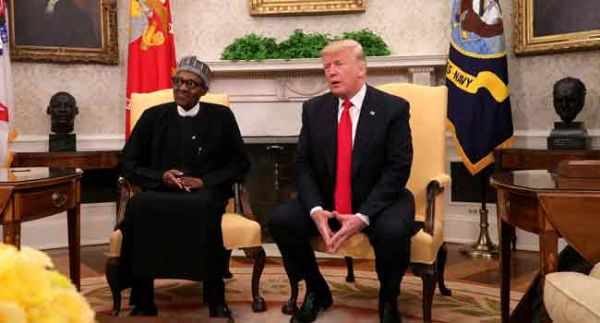 •Presidents Buhari and Trump on Monday in Washington, DC