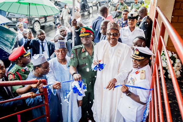 •Buhari commissions Naval Reference Hospital in Calabar