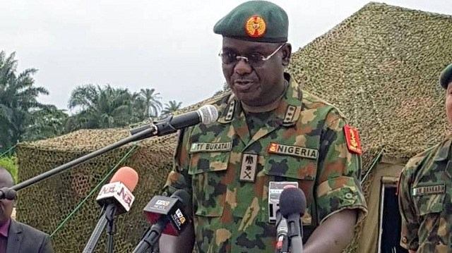 • Chief of Army Staff Lt.-General Buratai