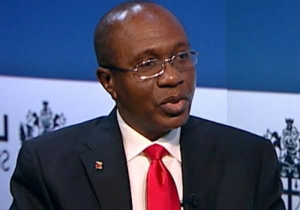 •Central Bank Governor, Godwin Emefiele