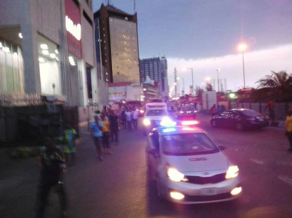 •CBD vehicles during night patrol
