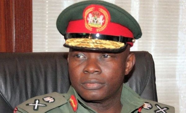 •Chief of Defence Staff, Gen. Gabriel Olonisakin