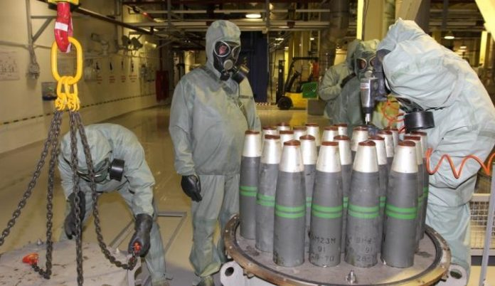•Chemical weapons