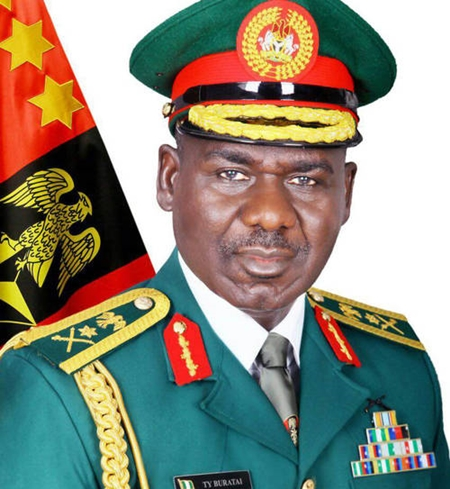 : •Chief of Army Staff, Lt.-Gen. Buratai