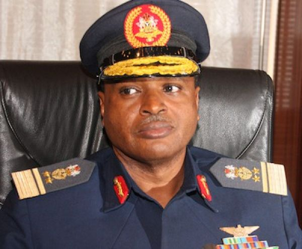 •Chief of the Air Staff, Air Marshal Sadique Abubakar.